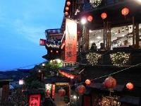 台北/九分の夜景/イメージ