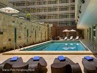 香港/マルコポーロホテル/プール
