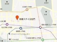 ソウル/新羅ステイ光化門/地図