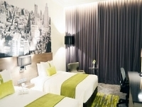 バンコク/ホリデーインシーロム/お部屋の一例