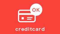 クレジットカード決済や分割払いも可能!