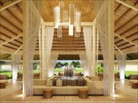 フュージョン/ウッド調デザインが光る高級ホテル