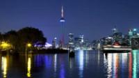 *トロントの夜景 写真提供:オンタリオ州観光局