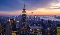 *ニューヨークの夜景