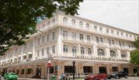 コンチネンタル/フランス統治時代の面影が残る老舗ホテル