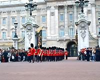 イギリス/ロンドン/バッキンガム宮殿*
