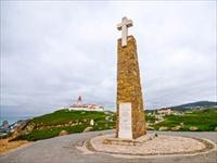 ユーラシア大陸最西端に建つ石碑