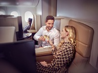 エティハド航空 B787 ビジネスクラス