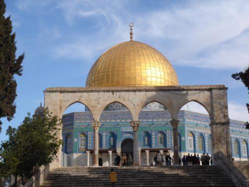 聖地エルサレムの岩のドーム