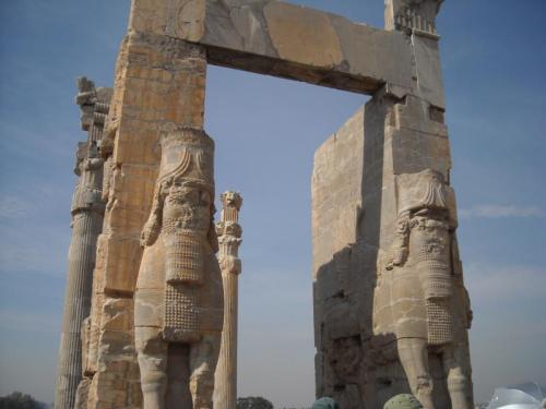 ペルセポリス遺跡・クセルクセス門