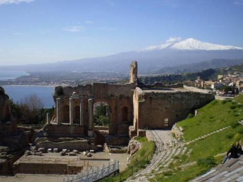 エトナ山(イタリア・シチリア島)