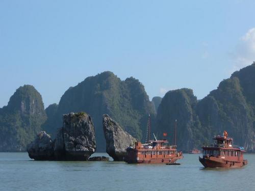 ベトナムツアーのハイライト、ハロン湾