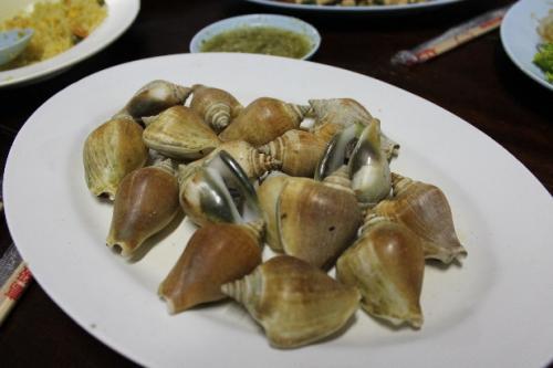 シーフード貝