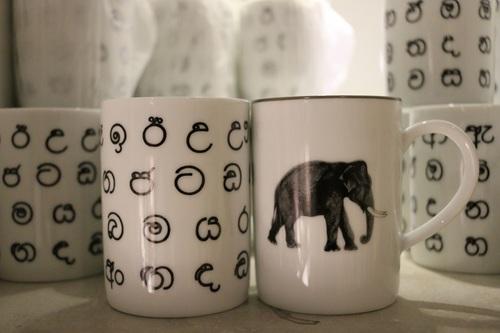 象マグカップ