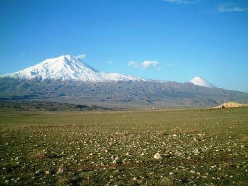 アララット山(東トルコ)