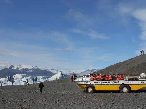 水陸両用ボート(アイスランド)