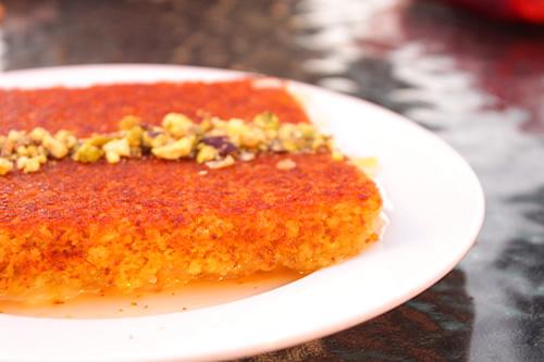 チーズを使った柔らかスイーツ クナーファ