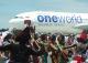 スリランカ航空機体