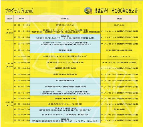 2009漢城百済文化祭06