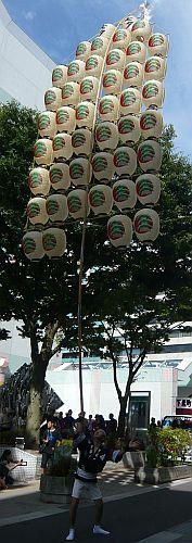 秋田竿燈まつり2
