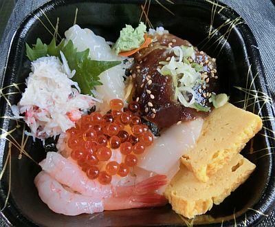 海鮮丼その1