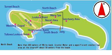 マナ島マップ