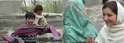 パキスタンの子供たち