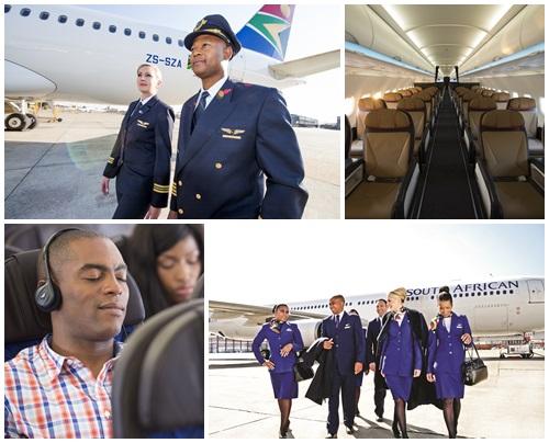 南アフリカ航空イメージ