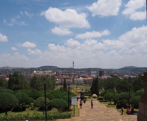 プレトリア市内の風景