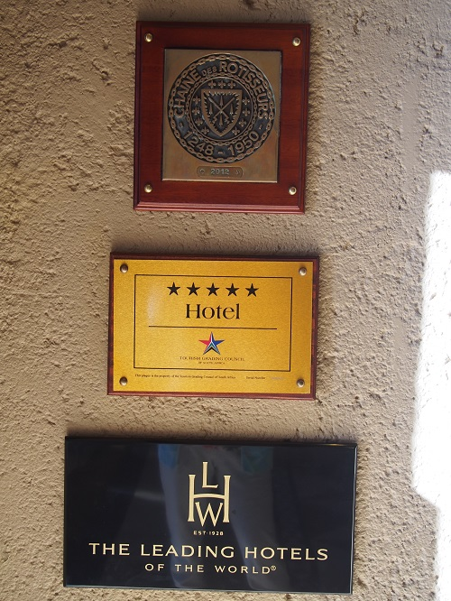 5つ星ホテル!キラーン!