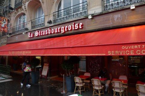 パリで美味しいアルザス料理を