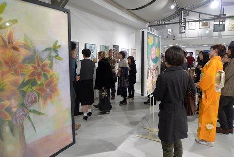欧州美術クラブ主催の美術展