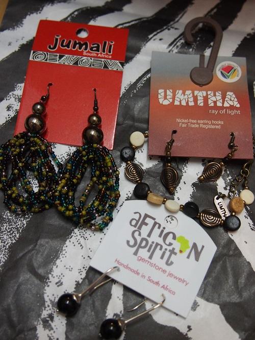 アフリカンアクセサリー