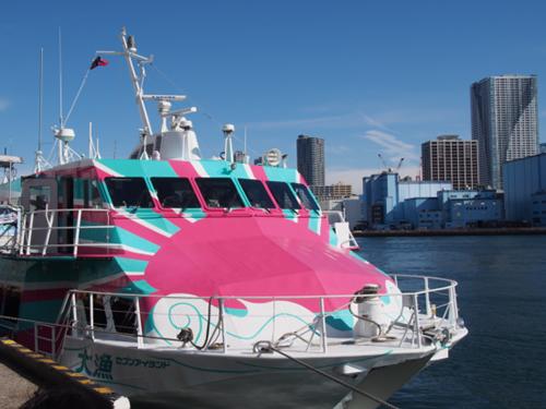 高速ジェット船「セブンアイランド大漁」