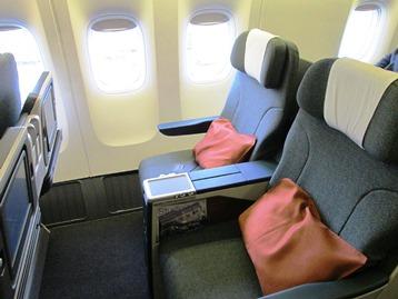 キャセイパシフィック航空 ビジネスクラス