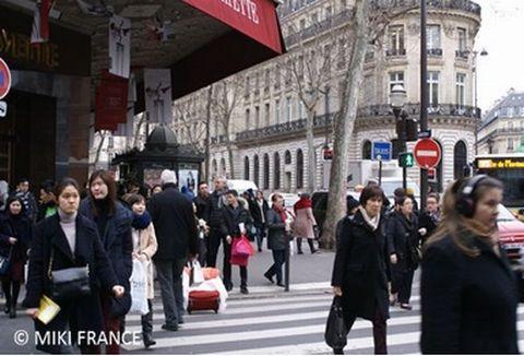 パリ市内の状況1