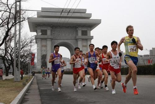 北朝鮮マラソン