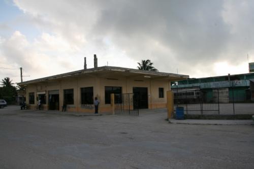 Corozalのバスターミナル