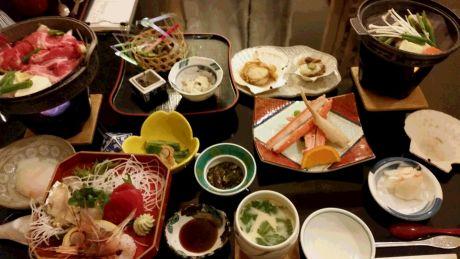 椿館 夕食