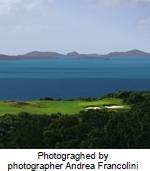 デント島内に「ゴルフコース」オープン
