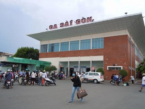 サイゴン駅外観