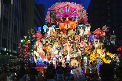八戸三社大祭 夜