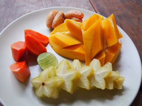 fruits plate