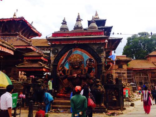 カーラバイラヴ神像