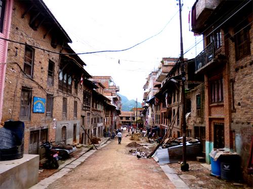 コカナ村メインストリート