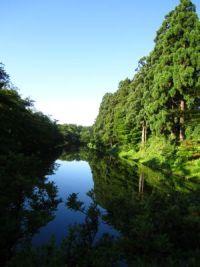 弘前公園内堀