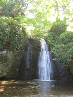 白瀑神社 滝2