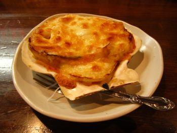 県産りんごのチーズ焼き
