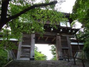 久保田城表門