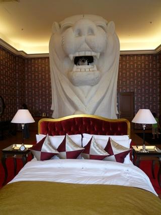 ホテルマー室内